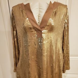 Michael Kors sequenced tunic